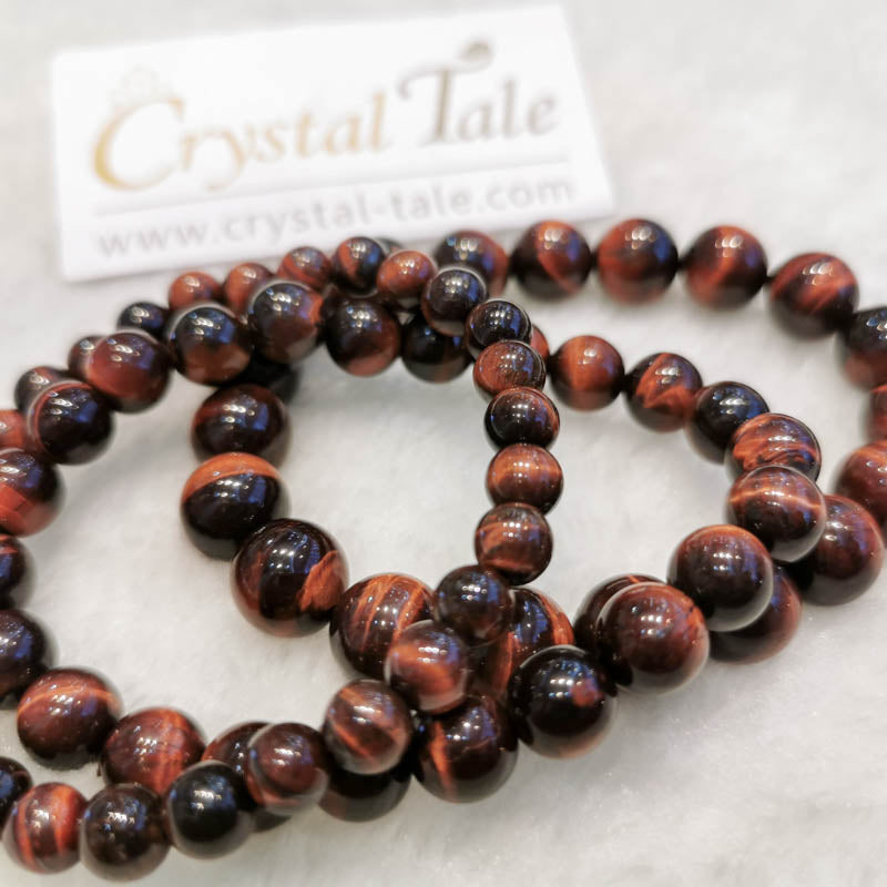 Tiger's Eye Bracelet - Red