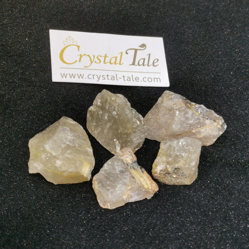 Golden Rutilated Quartz Raw