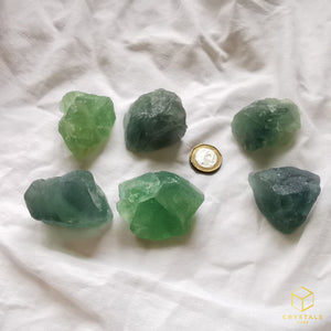 Fluorite (Blue-Green) Raw - Grab size
