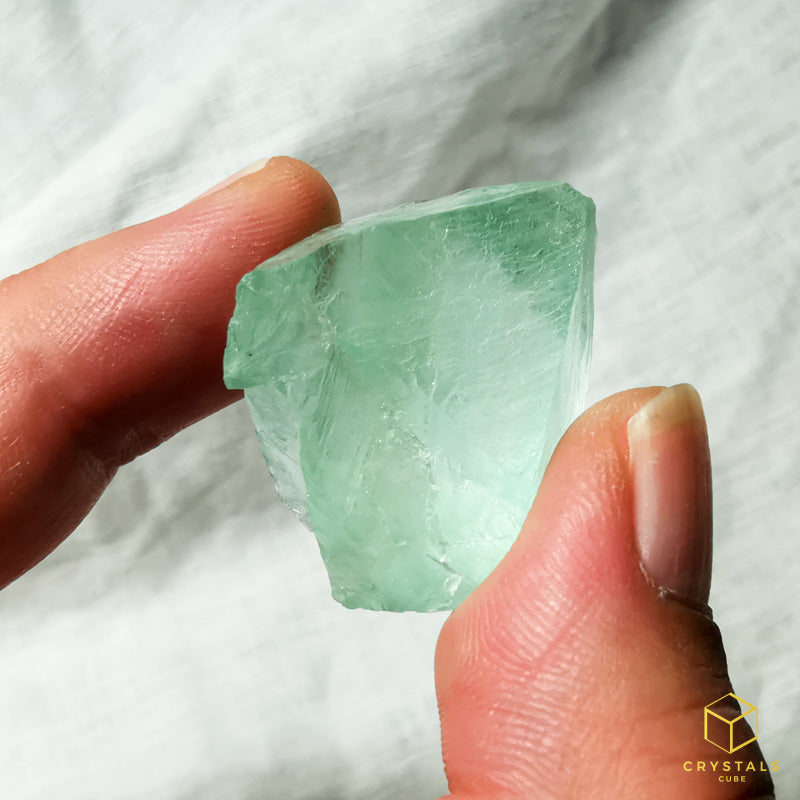 Fluorite*** (Blue-Green) Raw
