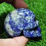 Load image into Gallery viewer, Lapis Lazuli Skull