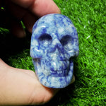 Load image into Gallery viewer, Sodalite Skull