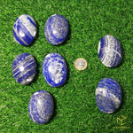 Load image into Gallery viewer, Lapis Lazuli Palm Stone