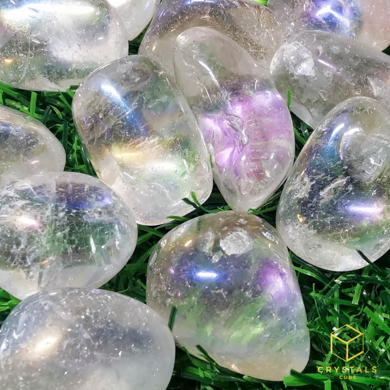 Angel Aura Quartz Tumble