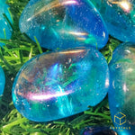 Load image into Gallery viewer, Aqua Aura Quartz Tumble