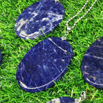 Load image into Gallery viewer, Sodalite Oval Pendant - Big