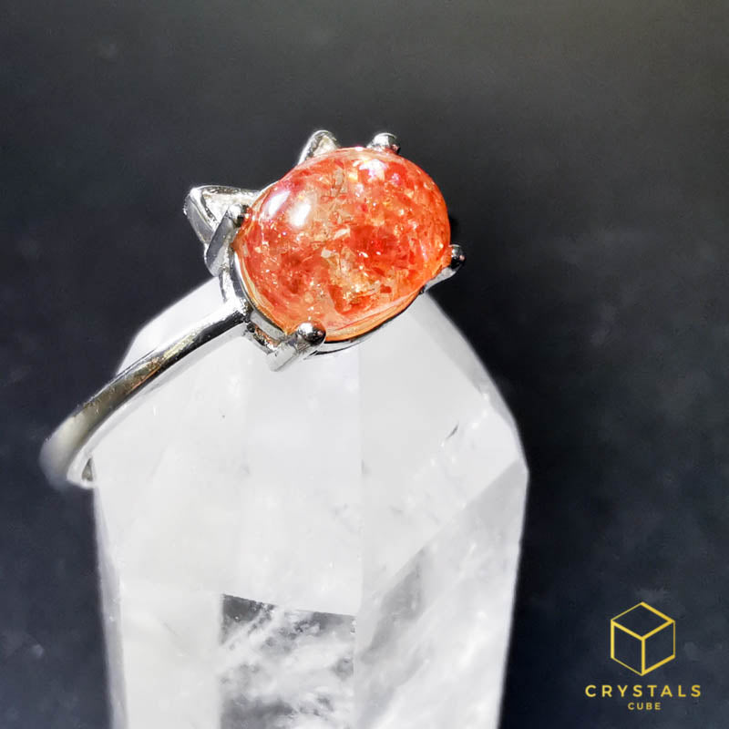 Sunstone Ring - Cat