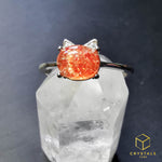 Load image into Gallery viewer, Sunstone Ring - Cat