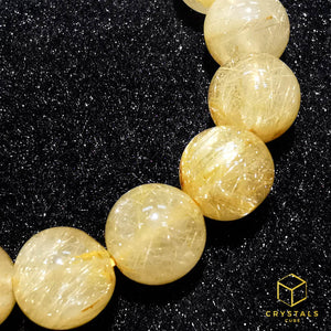 Golden Rutilated Quartz* Bracelet