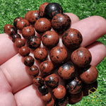 Load image into Gallery viewer, Mahogany Obsidian Bracelet