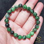Load image into Gallery viewer, Ruby Zoisite ( Anyolite) Bracelet