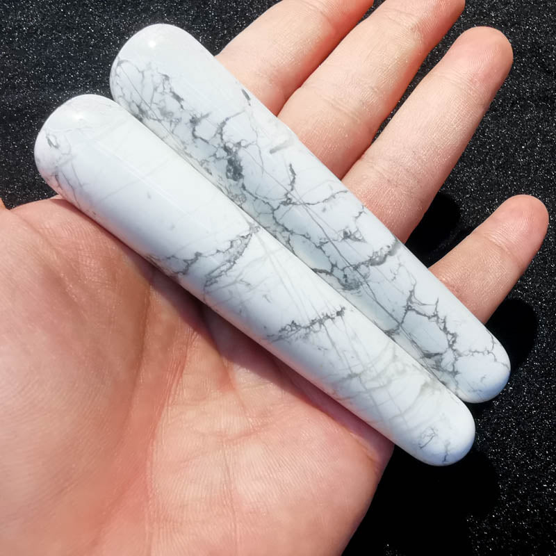 Howlite Massage Wand