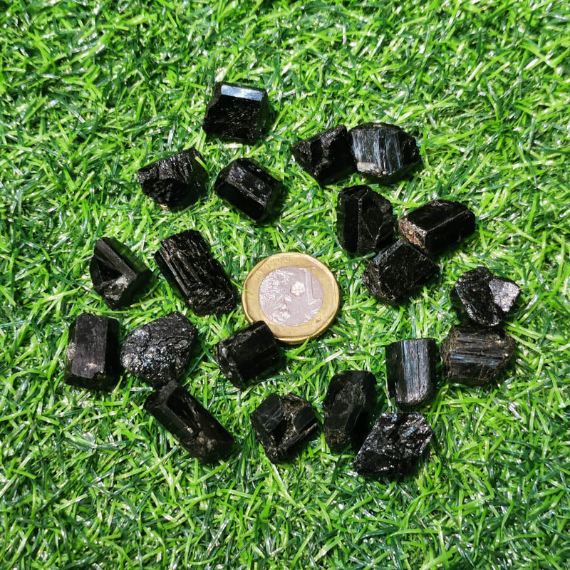 Black Tourmaline (Schorl) Raw (X-Small)