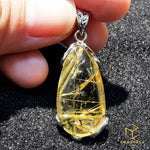 Load image into Gallery viewer, Golden Rutilated Quartz*** Pendant
