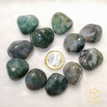 Load image into Gallery viewer, Moss Agate Tumble