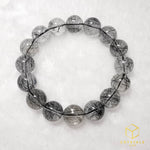 Load image into Gallery viewer, Black Rutile*** (Tourmalinated Quart) Bracelet