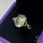 Load image into Gallery viewer, Prehnite Ring