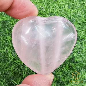 Rose Quartz Heart - Small