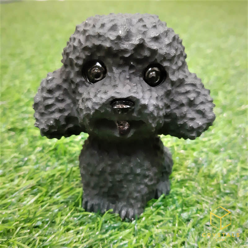 Black Obsidian Dog (Poodle)