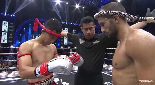 TK10 SUPERFIGHT : Chen Weichao TC Muaythaigym (China) vs Mohamed Galaoui (France) (Full Fight HD)