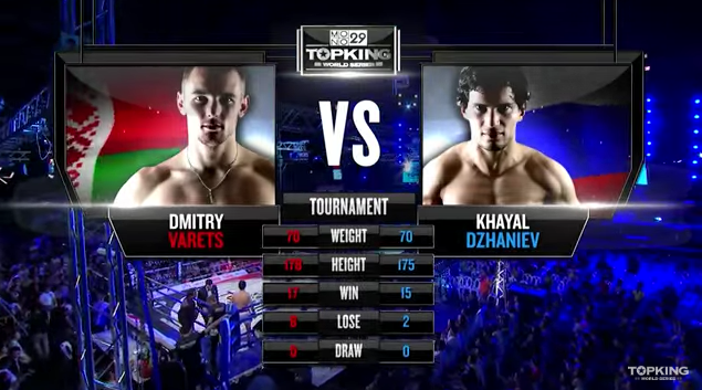 TK8 TOURNAMENT : Khyal Dzhanive (Russia) vs Dmitry Varets (Belarus) (Full Fight HD)