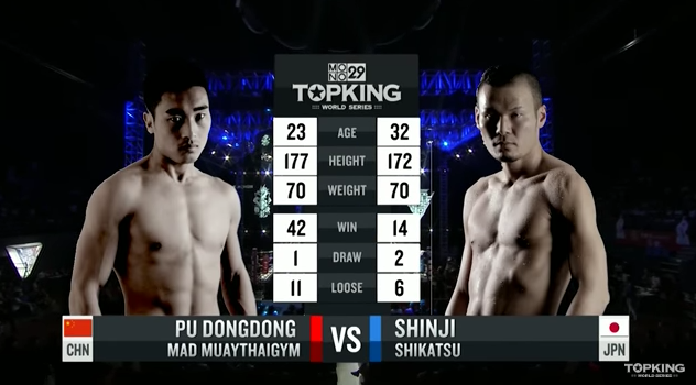 TK10 Tournament : Pu Dongdong (China) vs Shinji Shikatsu (Japan) (Full Fight HD)