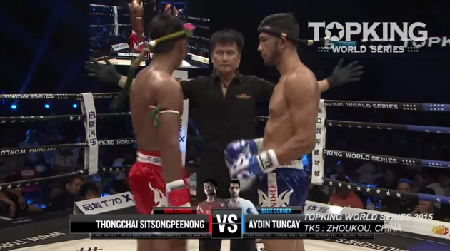 TK5 SUPERFIGHT: Thongchai Sitsongpeenong (Thailand) VS Aydin Tuncay (Turkey) (Full Fight HD)