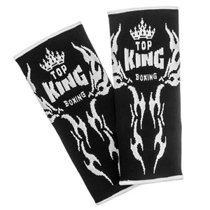 Top King Black Tattoo Ankle Supports