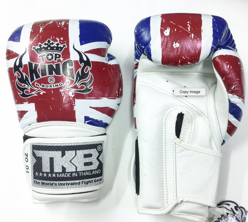 "Top King England ""Flag Edition"" Boxing Gloves"