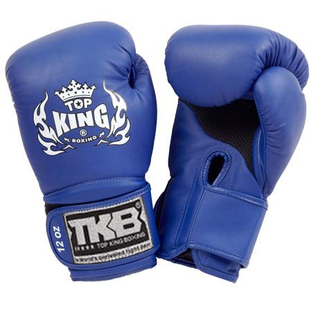 "Top King Blue ""Super Air"" Boxing Gloves"