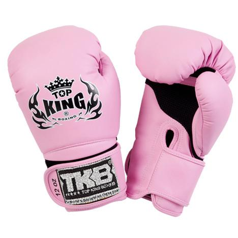 "Top King Pink ""Super Air"" Boxing Gloves"