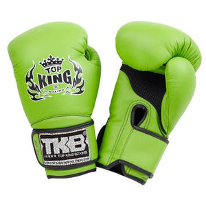 "Top King Green ""Super Air"" Boxing Gloves"