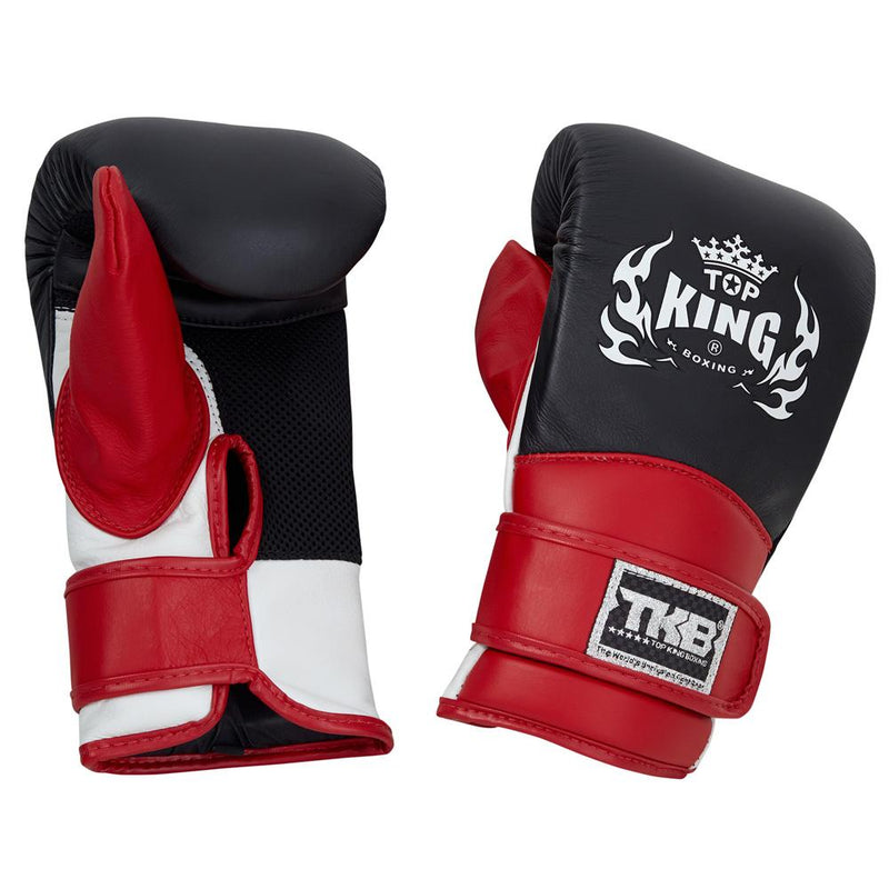 Top King Black Triple Tone Bag Gloves with Closed Thumb