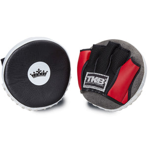 "Top King Red / White ""Circular"" Focus Mitts"