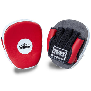 "Top King Red / White ""Light-Weight"" Focus Mitts"