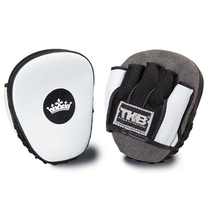 "Top King White / Black ""Light-Weight"" Focus Mitts"