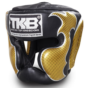 "Top King Gold / Black ""Empower 01 Edition"" Head Guard"