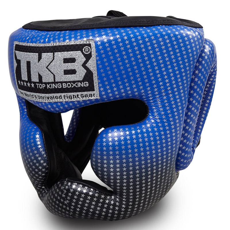 "Top King Blue ""Super Star Edition"" Head Guard"