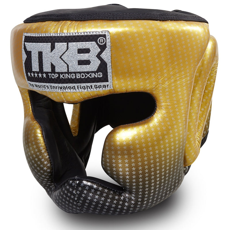 "Top King Gold ""Super Star Edition"" Head Guard"