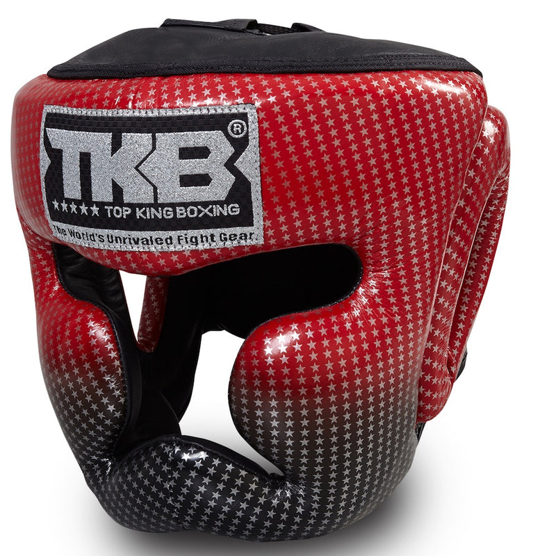 "Top King Red ""Super Star Edition"" Head Guard"