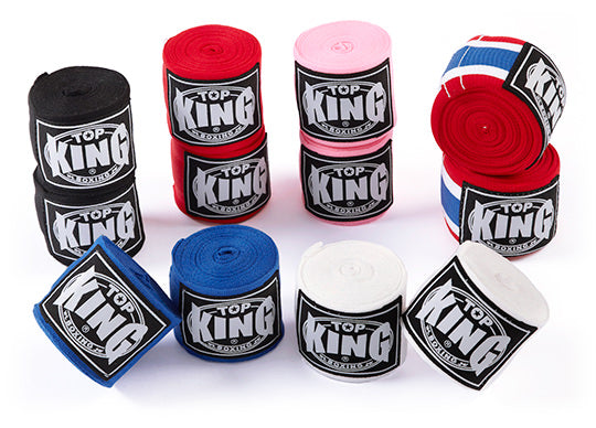 Top King Hand Wraps (Choice of Colors)