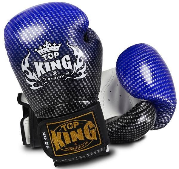 "Boxing Gloves - Top King Blue ""Super Star"" Boxing Gloves"