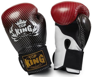 "Boxing Gloves - Top King Red ""Super Star"" Boxing Gloves"