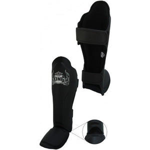"Shin Guards - Top King Black ""Pro"" Shin Guards"