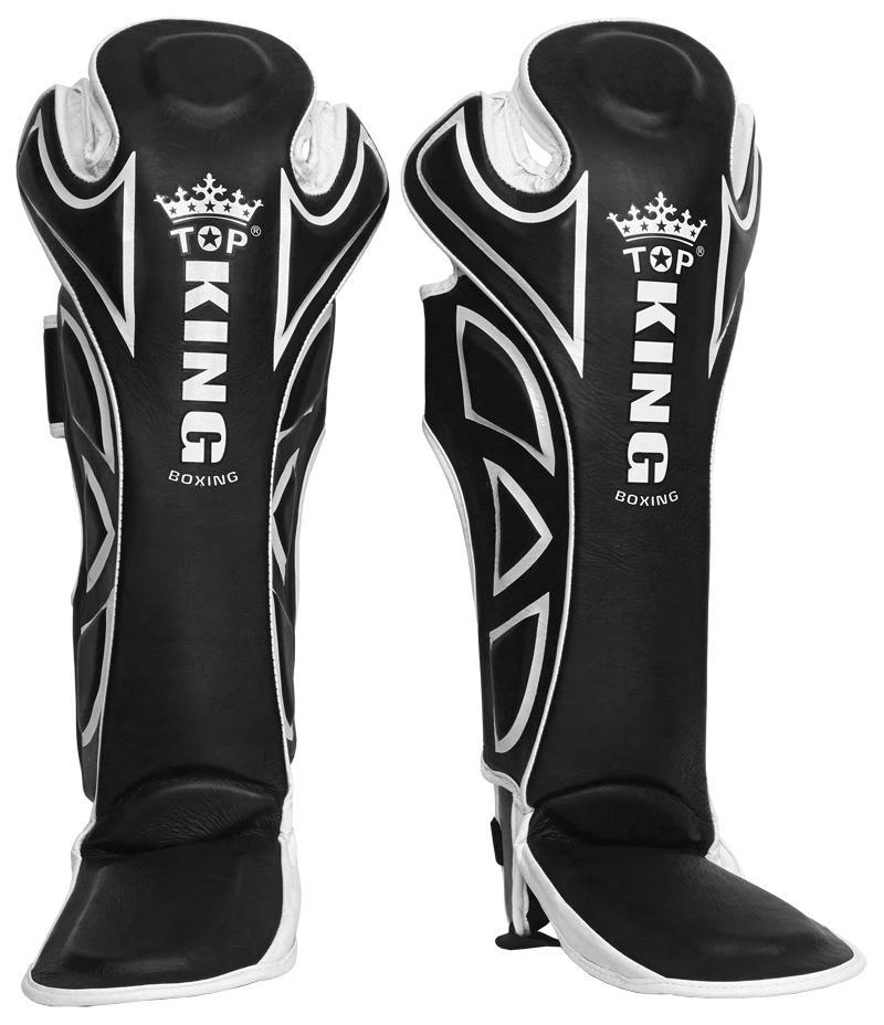 "Shin Guards - Top King Black ""Super"" Shin Guards"