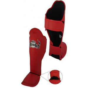 "Shin Guards - Top King Red ""Pro"" Shin Guards"