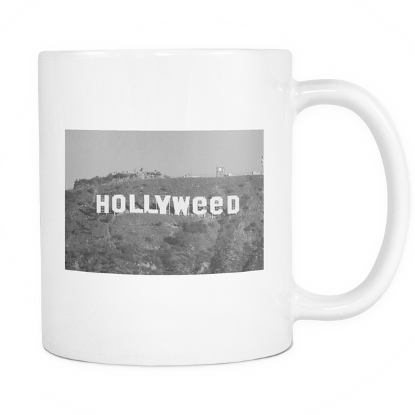 "Vintage ""Hollyweed"" 11oz Mug - Schwag420.com"