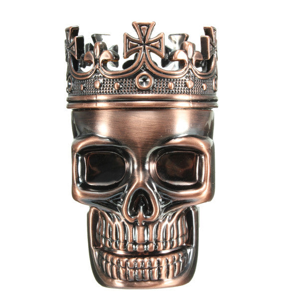 King Skull Grinder - HOT ITEM!! - Schwag420.com