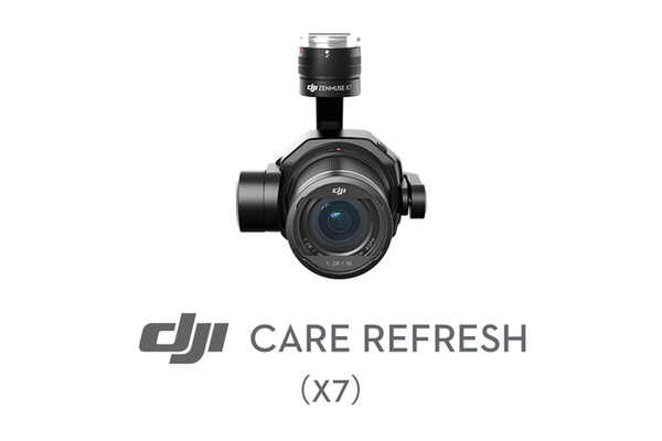 DJI Care Refresh for Zenmuse X7 (1 Year)