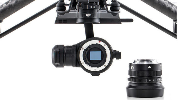 DJI Inspire 1 Zenmuse X5R RAW Gimbal and Camera Unit (With Lens)